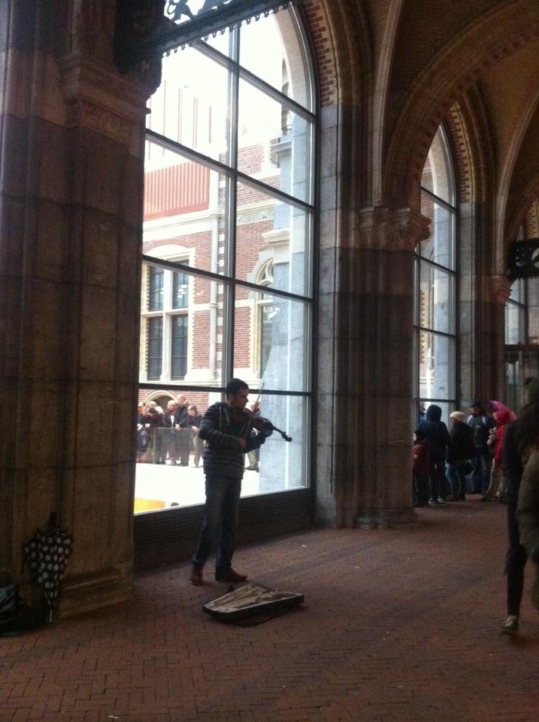 Violins at the Rijksmuseum