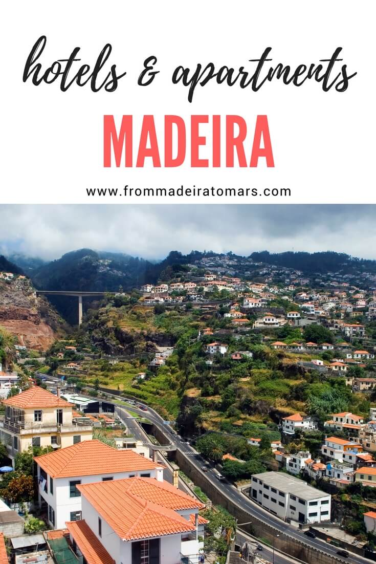 Hotels and apartments in Madeira