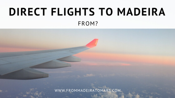 direct flights to madeira