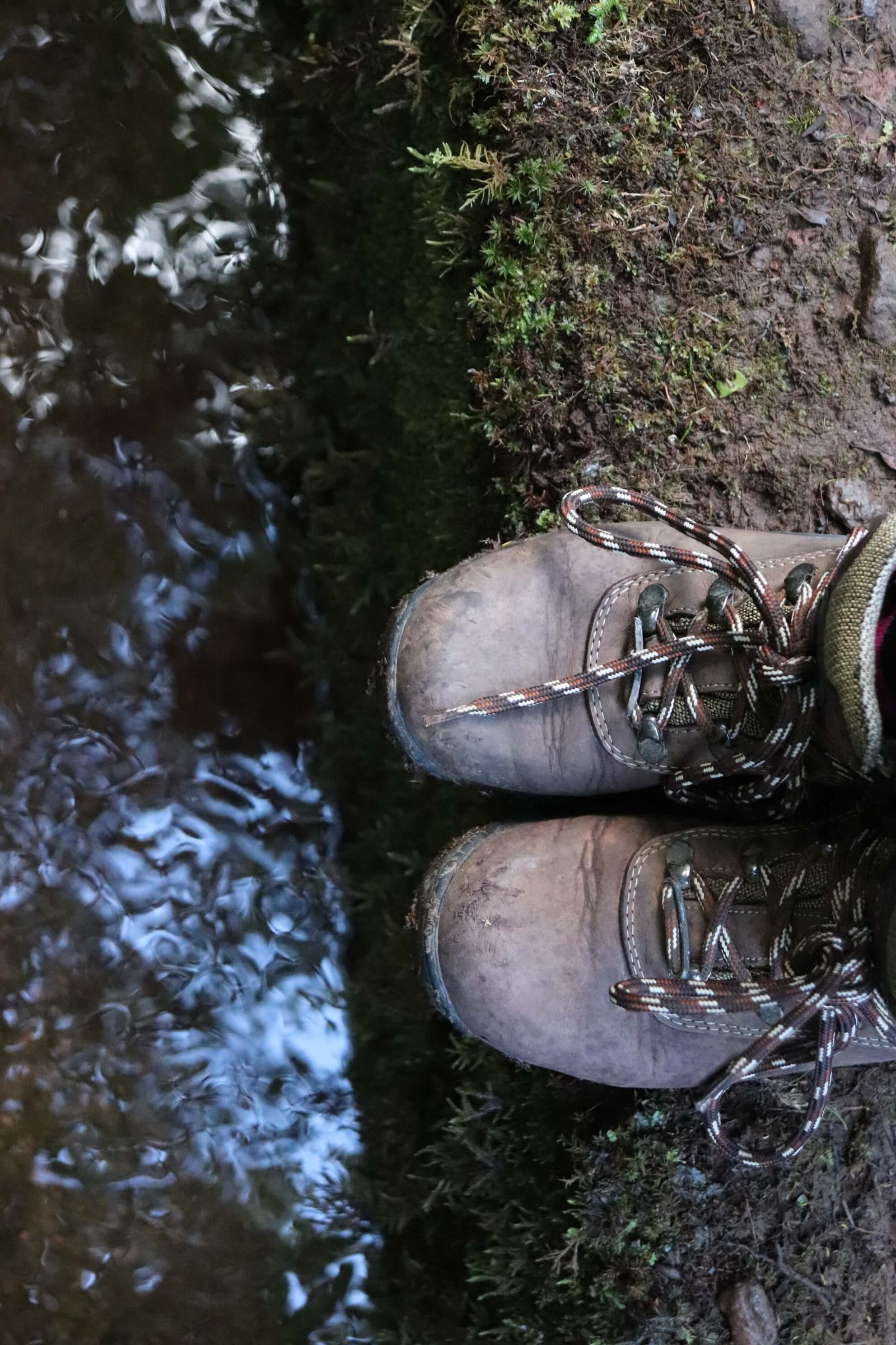 mountain boots levada walk